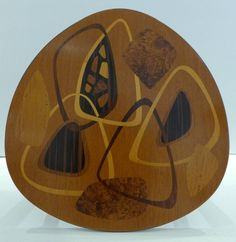 Erno Fabry Nest of Tables with Exotic Wood Inlay image 7