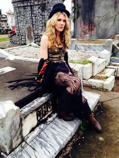 American Horror Story: Coven  Misty in the graveyard…