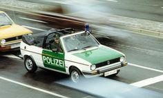 OG | Volkswagen / VW Golf GL Cabriolet Mk1 | #Polizei