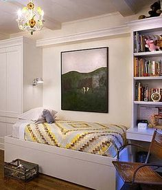 kids built-in bed, closet and desk Andrew Suvalsky