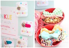 Sprinkled accessory ideas | prudent baby