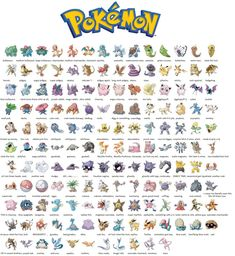 I try to name the original 151 pokemon (haven't played any of the games or seen the show since childhood)