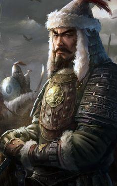 Ögedei Khan of the Mongol Horde