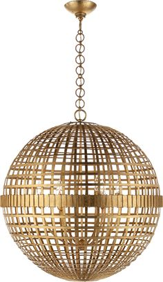 Designed by Aerin Lauder - this beautiful light fixture reminds me of Estee Lauder's compacts.