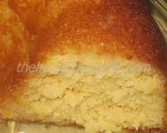 Caribbean Rum Cake - There's nothing better than the flavors of the Caribbean in cake form. The rum is just an added bonus!