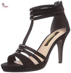 Tamaris 28386, Sandales femme - Noir (Black 001), 41 EU - Chaussures tamaris (*Partner-Link)