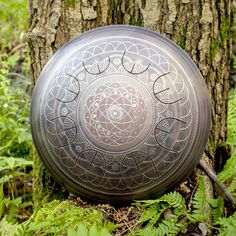 "Design ""Dnipro"" for GUDA® drum MINI with Overtones: www.etsy.com/shop/GudaDrum #Music, #Musical_Instruments, #Drums_Percussion, #Steel_Drums, #Unique_idiophone, #guda_drum_mini, #drum_for_meditation, #Handpan, #Steel_Tongue_Drum, #guda, #Handmade_engraving, #music_for_meditation, #metal_drumming, #gudadrum, #gudahybrid, #hybrid, #overtone, #gudaovertone, #metal_drum, #yoga, #drumforyoga, #drum_for_yoga, #Etsy, #wood"