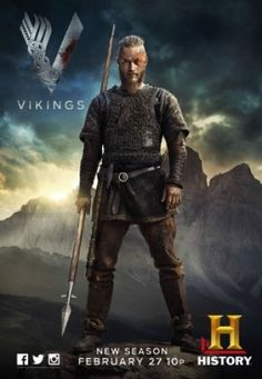Vikings S02E03 HDTV XviD-AFG  Vikings (2013-) Genre: Action   Drama   History Created By: Michael Hirst Cast: Travis Fimmel, Katheryn Winnick, Clive Standen Country: Ireland, Canada Original Language: English, Old English, Swedish, Norwegian Original Network: HISTORY Storyline: Vikings follows the adventures of Ragnar Lothbrok: the greatest hero of his age. The series tells the saga of Ragnar's band of Viking brothers and his family as he rises to become King of ...