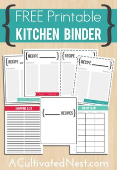 1000 Ideas About Recipe Templates On Pinterest Recipe Binders Make Your O