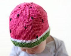 Kitty Cat Baby Hat KNITTING PATTERN knit cat by LittleRedWindow