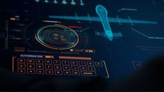 Scarab Digital's ARROW UI Season 3 Drone Override #Arrow #UI #FUI