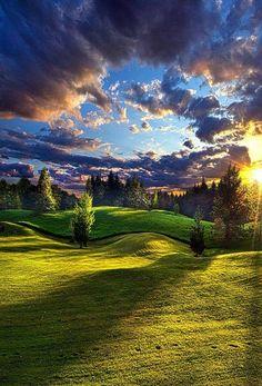 God's world is beautiful.