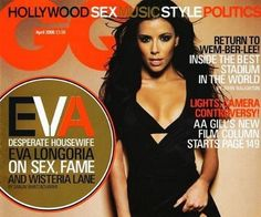 Eva Longoria, IMTA 1998, on the cover of GQ!