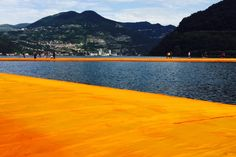 Christo and Jeanne-Claude, Wolfgang Volz, Mi Chenxing · The Floating Piers