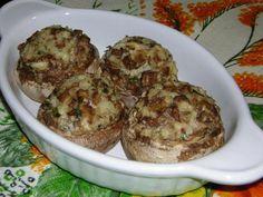 Funghi champignon ripieni al forno