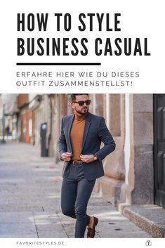 Erfahre welche Teile dazu passen! Business Outfit für Männer. Smarter Stil passend für die Arbeit mit Anzughose, Sakko, Rollkragenpullover und Slipper. Trage im Herbst einen Wollmantel oder Trenchcoat und Chelsea Boots. Outfits für Männer mit passenden Teilen bei Favorite Styles. #favoritestyles #mode #fashion #outfit #männer #herren #style #stil #männermode #herrenmode #mensoutfit #mensfashion #ideen #inspiration #business #casual #smart #arbeit #anzug #sakko