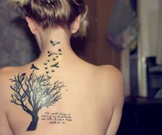 tree of wisdom tatto