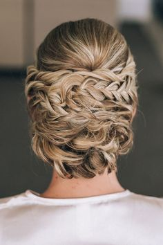 Elegant braided wedding updo | Raconteur Photography