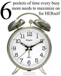 making time for yourself as a mom - TheSoulSpa.net
