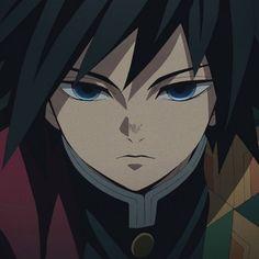 Anime Icon kimetsu no Yaiba Gyiuu Profile Picture, Anime Demon, Anime Profile, Anime Wall Art, Animated Icons, Slayer Anime, Anime Icons, Demon, Aesthetic Anime