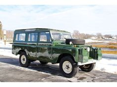 "Land Rover 1966 109"" Series III commissioned by The Orvis apparel company"
