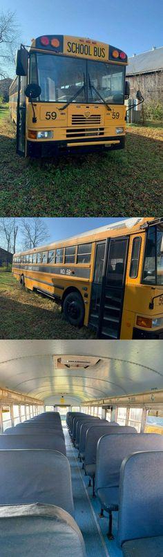 2004 International School Bus DT466 Forward Control Buses For Sale, International School
