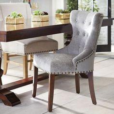 Hourglass Crushed Velvet Rain Dining Chair $200