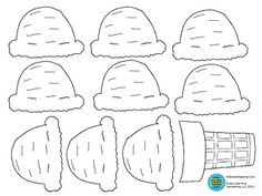 Awesome Free Printable Coloring Pages Ice Cream Cone that you must know, You?re in good company if you?re looking for Free Printable Coloring Pages Ice Cream Cone Ice Cream Template, Cone Template, Templates Printable Free, Free Printable Coloring Pages, Free Coloring Pages, Free Printables, Ice Cream Names, Ice Cream Theme, Royal Icing Templates