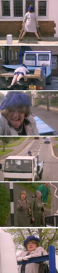 This was the first episode of Keeping Up Appearances that I saw and it is still one of my favorites!