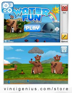 """""""Water Fun"""" #app is a fun, interactive way to explain the water cycle to your child."""