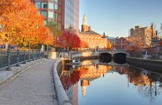 Fall in Providence!!! if you ever go, please book La Gondola...one of the most AMAZING and romantic experiences I've ever had!!!!!!!       #VisitRhodeIsland