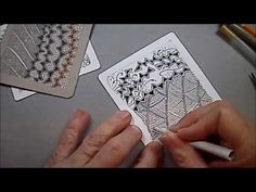 Shattuck Tangle Pattern Lesson #47 - YouTube