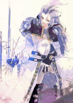 Kuja ||| Final Fantasy IX art by Ishida Sui