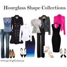 """How to dress an Hourglass Shape"" by go-2-girl on Polyvore"