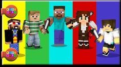 Finger Family Minecraft - Nursery rhyme for Kids by kidssongtv