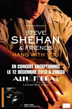 "affiche concert ""Hang With You"" - Steve Shehan"