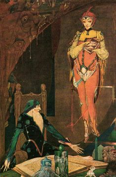Harry Clarke's 1926 Illustrations of Goethe's Faust: Art That Inspired the Psychedelic 60s