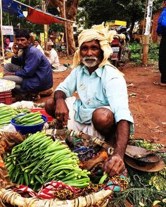 """One of the highlights for me when I visit my parents in Karnataka, India is a trip to the local farmers market known as """"Santhe"""" in Kannada, the regional language. Villagers from nearby come to the city to sell fresh produce grown by them. An array of fresh, regional and many local vegetables and fruits are on display. I walked a stretch of 2 kilometres and discovered many gems here. Find all of it on my snap chat. Id- anushrutirk"""