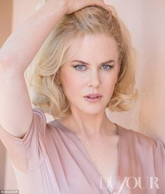 Nicole Kidman for DuJour magazine, Photograph by PATRICK DEMARCHELIER, Styled by L'WREN SCOTT