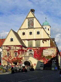 Old town hall, Bavaria, Germany