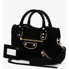 Balenciaga Mini City Shoulder Bag (19.299.040 IDR) ❤ liked on Polyvore featuring bags, handbags, shoulder bags, shoulder hand bags, balenciaga shoulder bag, cross-body handbag, mini purse and mini crossbody handbags