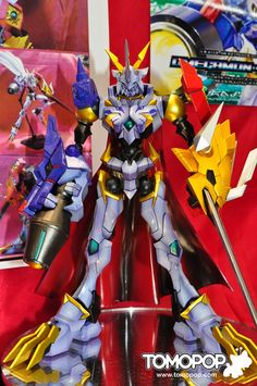 , . A few days ago we posted about a 3D rendering of Digimon X-Evolution's Omegamon (Omnimon) X-Anitbody kit. Tokyo Hunter also o...
