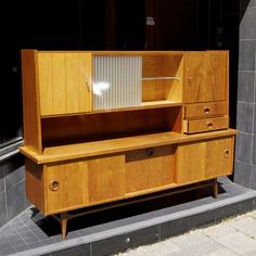 Vintage highboard, sixties