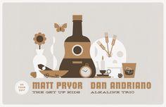 Matt Pryor (of The Get Up Kids) Announces U.S. Tour with Dan Andriano (of Alkaline Trio) | Digital Tour Bus