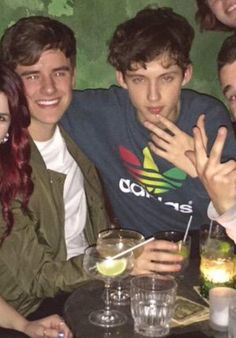 Troye looks like the bad boyfriend while Con is over there being the sweet and innocent boyfriend