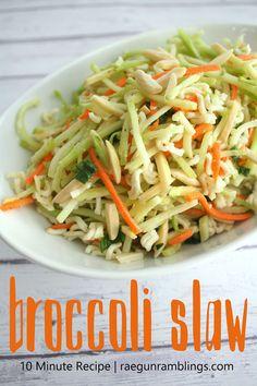 Recipe Broccoli Slaw The Whole Family Will Love