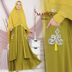 Defne Syari by Mayra Muslim Fashion, Women's Fashion, Hijab Outfit, Sewing, Outfits, Temples, Fashion Women, Dressmaking, Couture
