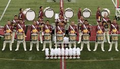 Drumline. Not just any drumline... The Cadets drumline. MY DREAM DRUMLINE.