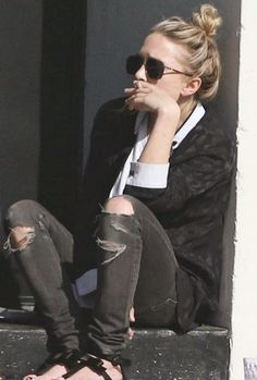 mary kate y ashley olsen street style - Buscar con Google