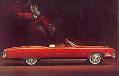 1972 Cadillac Eldorado Convertible- when cars were big and gas was cheap. Cadillac Eldorado, Cadillac Escalade, Ford Company, Mclaren Mercedes, Car Advertising, Chevrolet Impala, Cute Photos, Vintage Advertisements, Old Cars